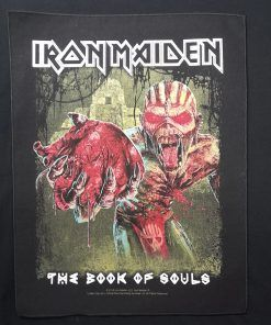 iron maiden the book of souls patch parche