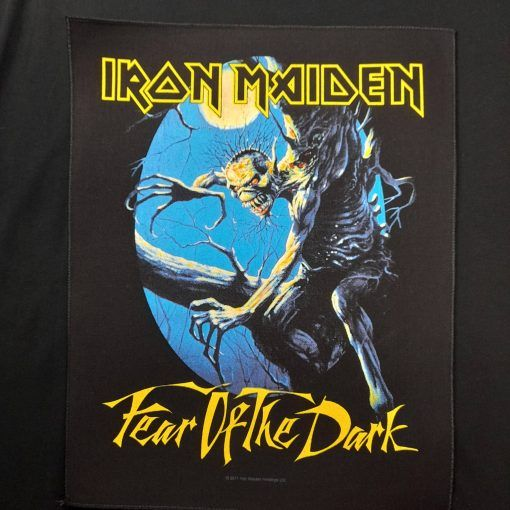iron maiden fear of the dark patch / parche