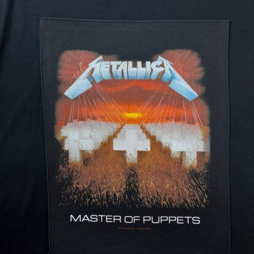 metallica master of puppets patch