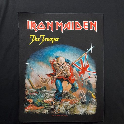 the trooper backpatch / parche iron maiden