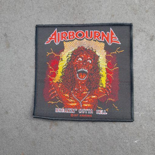 """Parche Airbourne """" Breakin outta hell """""""