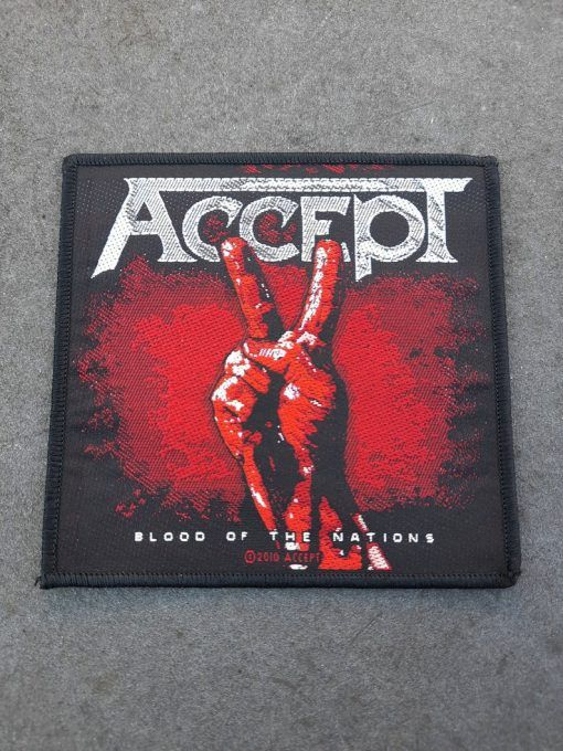 """Parche Accept """"Blood of the nations"""""""