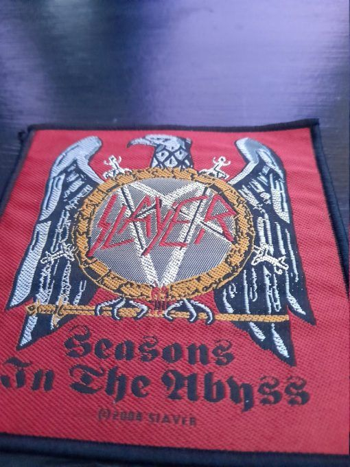 """Parche Slayer """"Seasons in the abyss"""""""