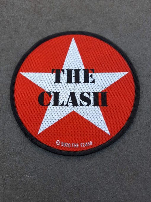 """Parche The Clash """"Army star"""""""