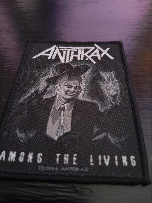 """Parche Anthrax """"Among the living"""""""