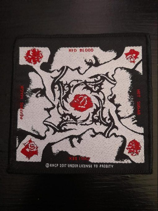 """Parche Red Hot Chili Peppers """"Blood sugar sex magic """""""